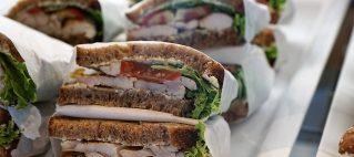 Сэндвич с треской Элис Марин